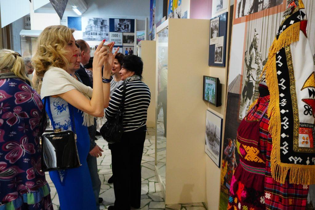 Открытие новой выставки