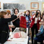 Секретами народной вышивки поделились сотрудники Национального музея Удмуртии
